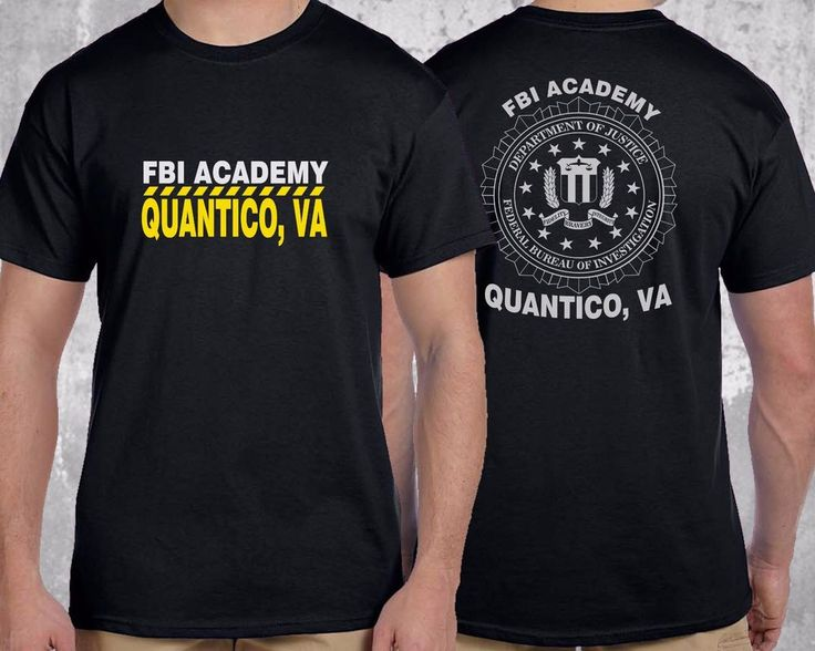 FBI Academy Quantico VA Police United States Department Of Justice T-Shirt #GildanorOther #GraphicTee