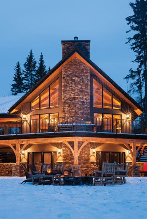 Outstanding Timber Frame Home Top Timber Homes Rustic