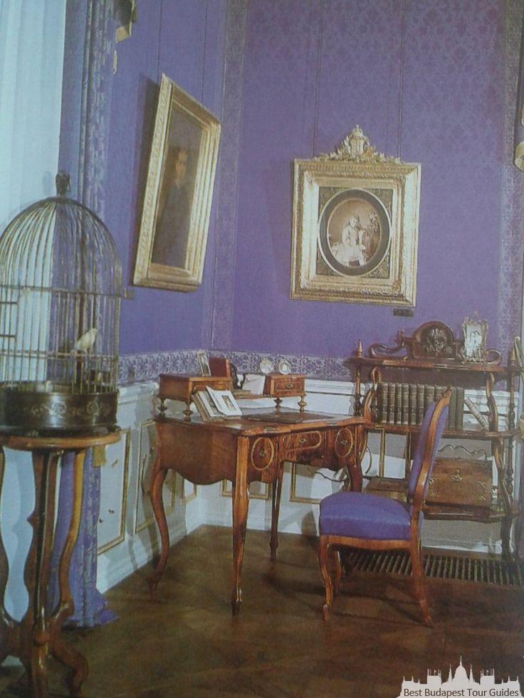 Château royal de Gödöllő, la chambre de la Princesse Elisabeth, Sissi