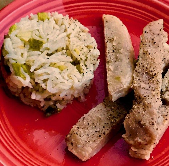 Pressure Cooker Pork Chops & Rice - Two Sleevers