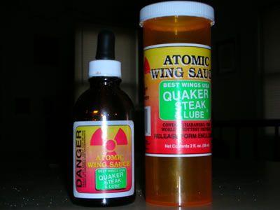 Quaker Steak and Lube Atomic sauce