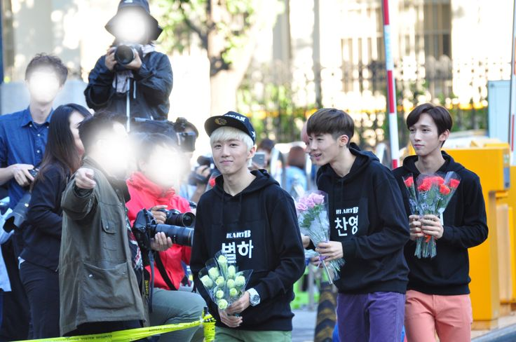 150918 HeartB arriving at Music Bank by KpopMap #musicbank, #kpopmap, #kpop, #heartb, #kpopmap_heartb