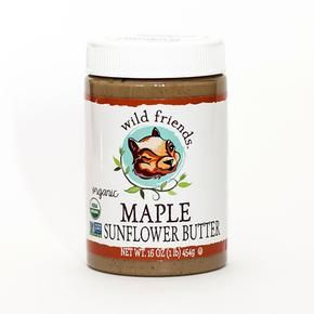 Maple Sunflower Seed Butter Wild Friends