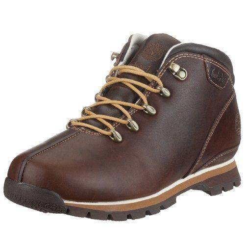 Oferta: 54.99€. Comprar Ofertas de Timberland Splitrock - Botas de senderismo con cordones para hombre, color marrón, talla 44 barato. ¡Mira las ofertas!