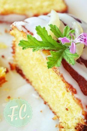 Κέικ με Λεμόνι και Γλάσο (Drizzle Lemon Cake) zaxaroplastiki eukola gluka diethni gluka diafora gluka cakeandbake