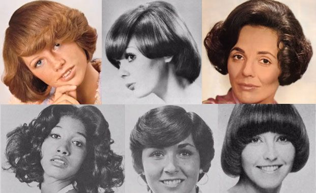 Reference for Love, Sex, and the I.R.S. Women's 1970s hairstyles