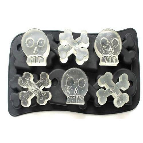 Skull and Crossbones Ice Mold #ice #skull #skulls