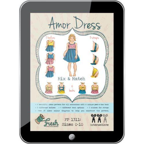 Amor Dress PDF Pattern