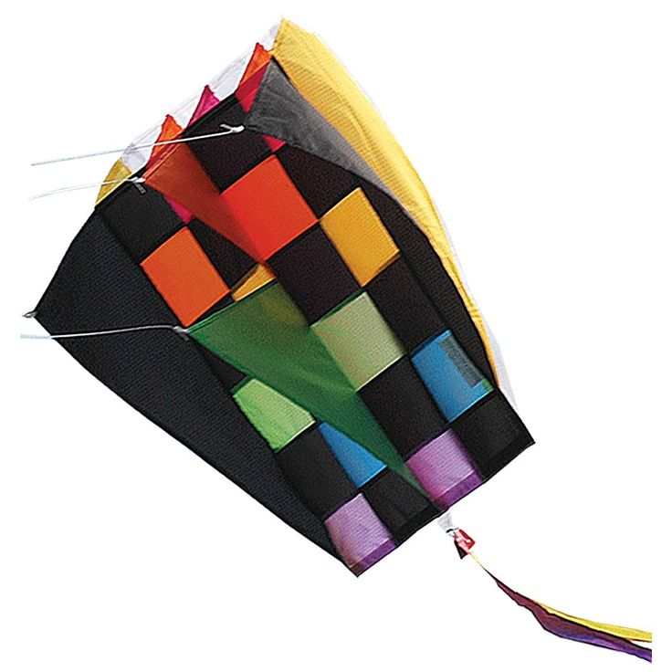 Premier Kites Premier Designs RB Tecmo Parafoil 2 Kite, Multicolor