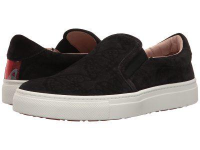 Vivienne Westwood - Slip-On Trainer (Black) Women's Slip on  Shoes