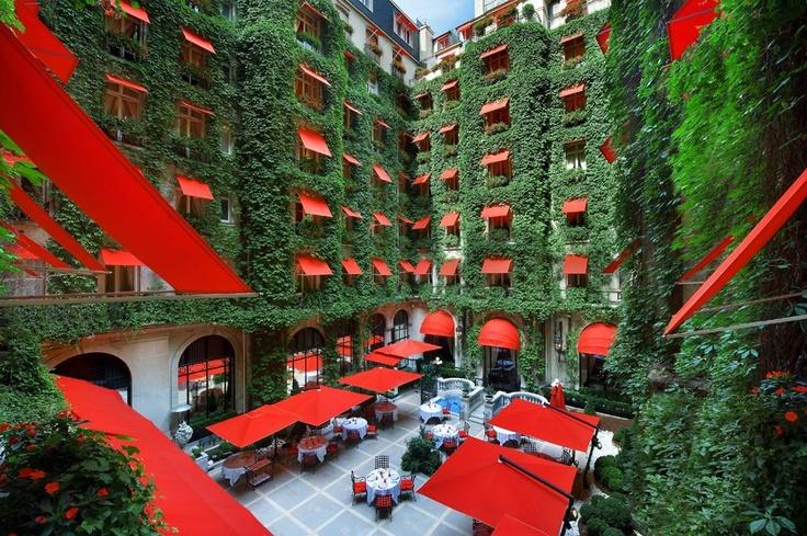 Hotel Plaza Athénée , Paris ♥: Favorite Places, Plazaathéné, Plaza Athens, Paris France, Athene Square, Hotels In Paris, Hotels Plaza, Paris Hotels, Luxury Hotels