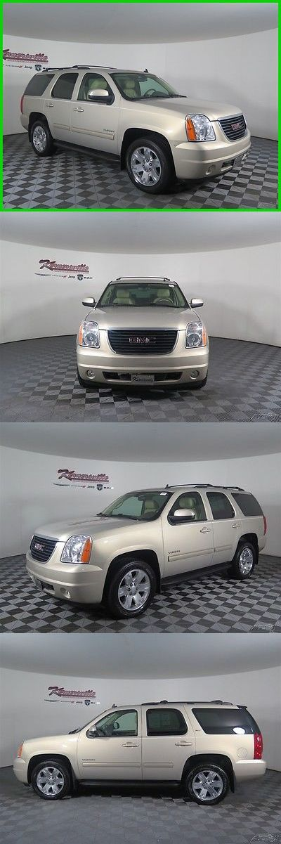 SUVs: 2010 Gmc Yukon Slt 4X4 V8 Suv Navigation Sunroof Dvd Leather Seat 96037 Miles 2010 Gmc Yukon Slt 4Wd Suv Navigation Sunroof Financing Available BUY IT NOW ONLY: $22985.0
