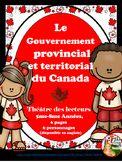 LE GOUVERNEMENT PROVINCIAL ET TERRITORIAL DU CANADA - THÉÂ