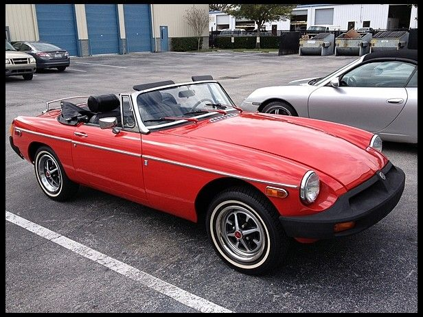 1976 MG B Convertible  My parents had a few of these