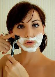 Female facial hair after menapause