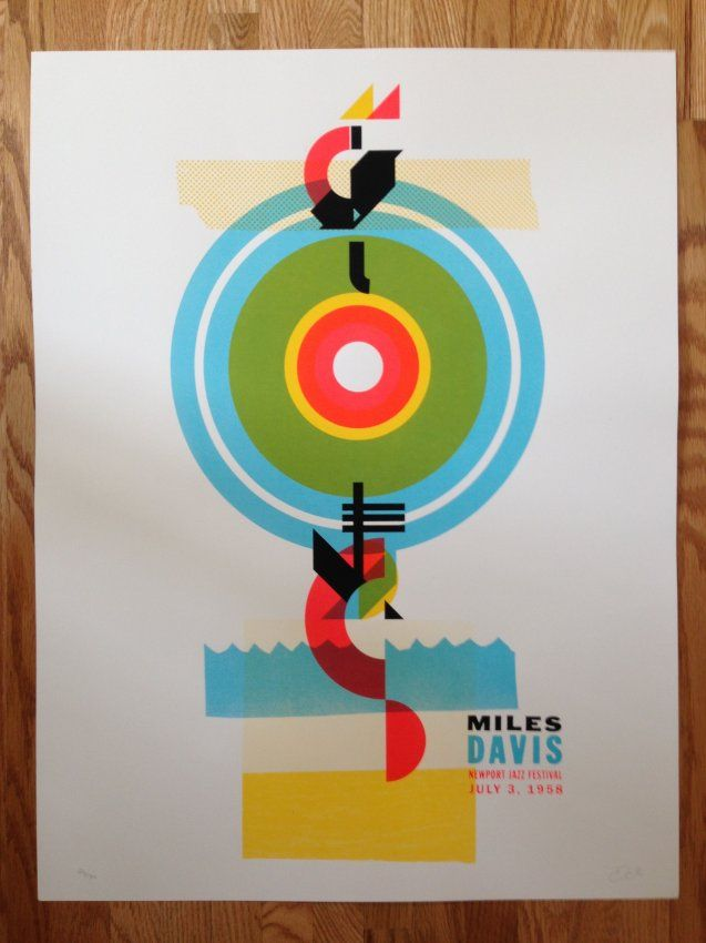 MILES DAVIS NEWPORT JAZZ FESTIVAL : Lot 1221