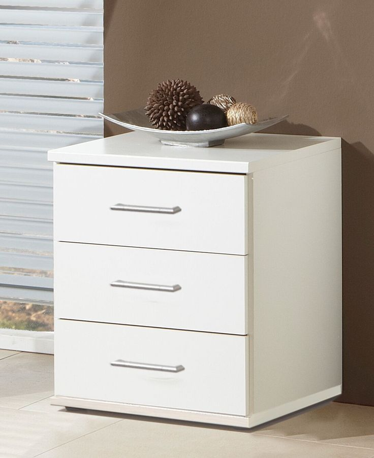 Brand new item Nice Alpine White... available to buy at http://discountsland.co.uk/products/nice-alpine-white-light-oak-effect-3-drawers-bedside-table?utm_campaign=social_autopilot&utm_source=pin&utm_medium=pin. Get #discounts on #furniture #homedecor