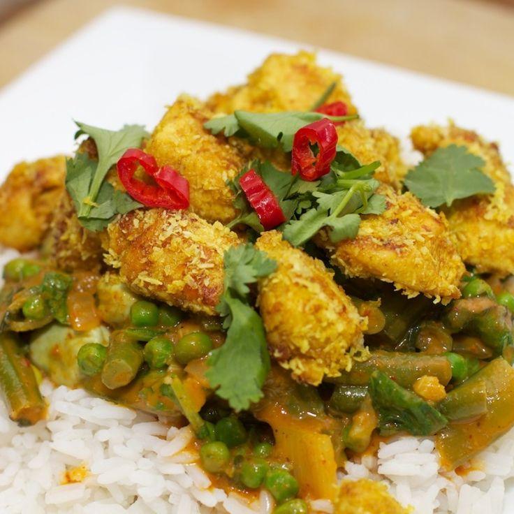De gele curry met groene groente en kokos-kip is typisch zo'n gerecht die je kunt maken met overgebleven groente. Dit hoeven dus niet allemaal groene groente te zijn, maar kijk gewoon wat je over hebt in de koelkast. Het is een pittig gerecht, dus denk eraan met kinderen dat ze dit niet zomaar kunnen eten. […]