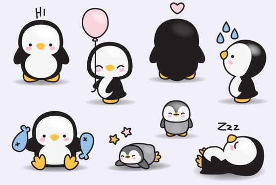 Penguin kawaii :3