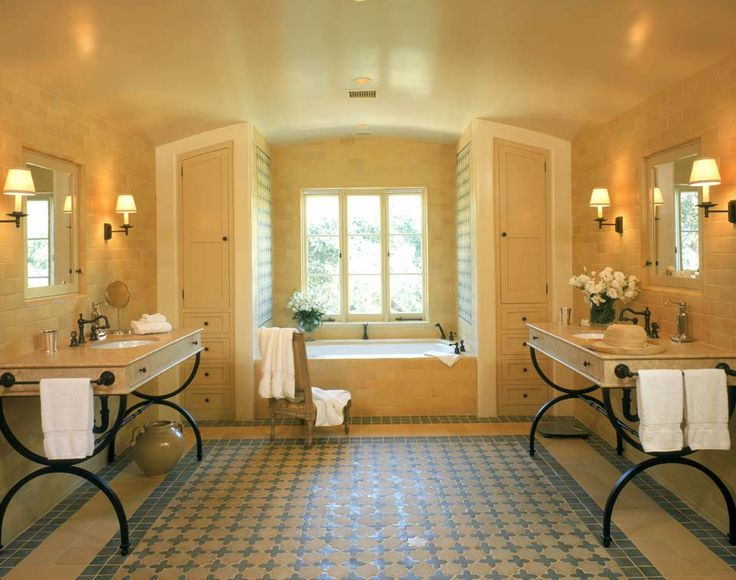 fabulous bathroom with spanish touch