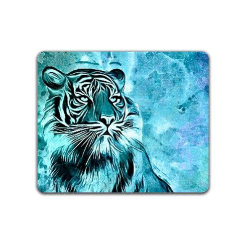 watercolor tiger Mousemat by ancello at zippi.co.uk