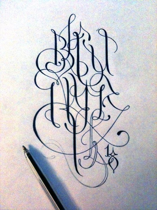 Typography by Supakitch from France