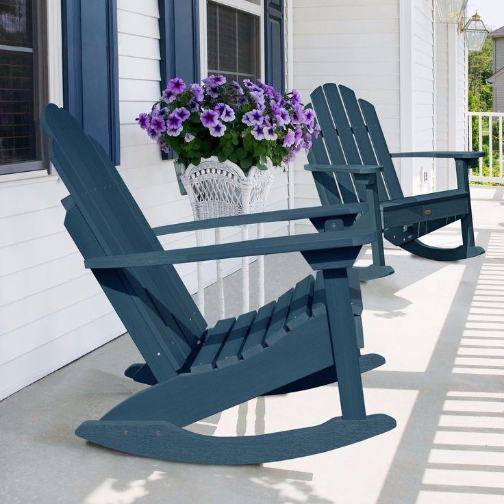 highwood Classic Westport Adirondack Rocking Chair , Patio Furniture