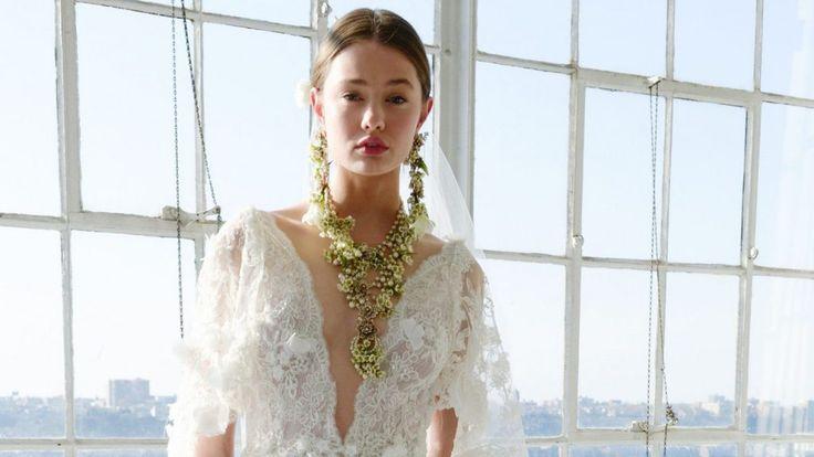 Bruidssieraden en accessoires 2017: de belangrijkste trends