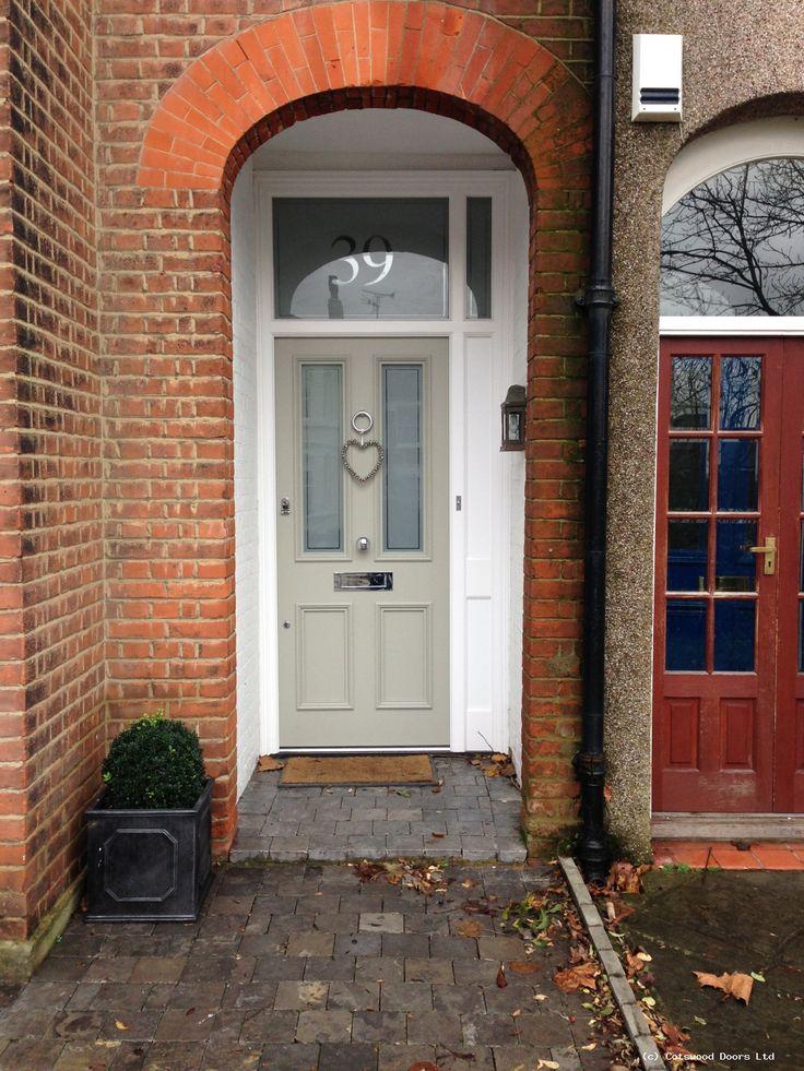 Victorian Door With Etched Glass 623 2