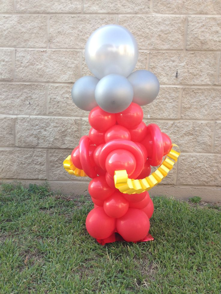 Balloon fire hydrant for dogs only