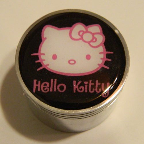 "Hello Kitty 4 Piece Metal Grinder Herb Spice Tobacco 2"" x 1.5"" (Smoke) - http://spicegrinder.biz/hello-kitty-4-piece-metal-grinder-herb-spice-tobacco-2-x-1-5-smoke/"