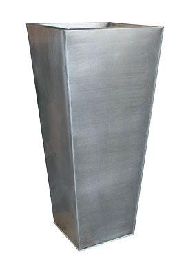 Titanium zinc square pot: Titanium Squares, Antique Titanium, Zinc Square, Square Pots, Tapered Square, Squares Taper, Taper Squares, Antiques Titanium, Squares Pots