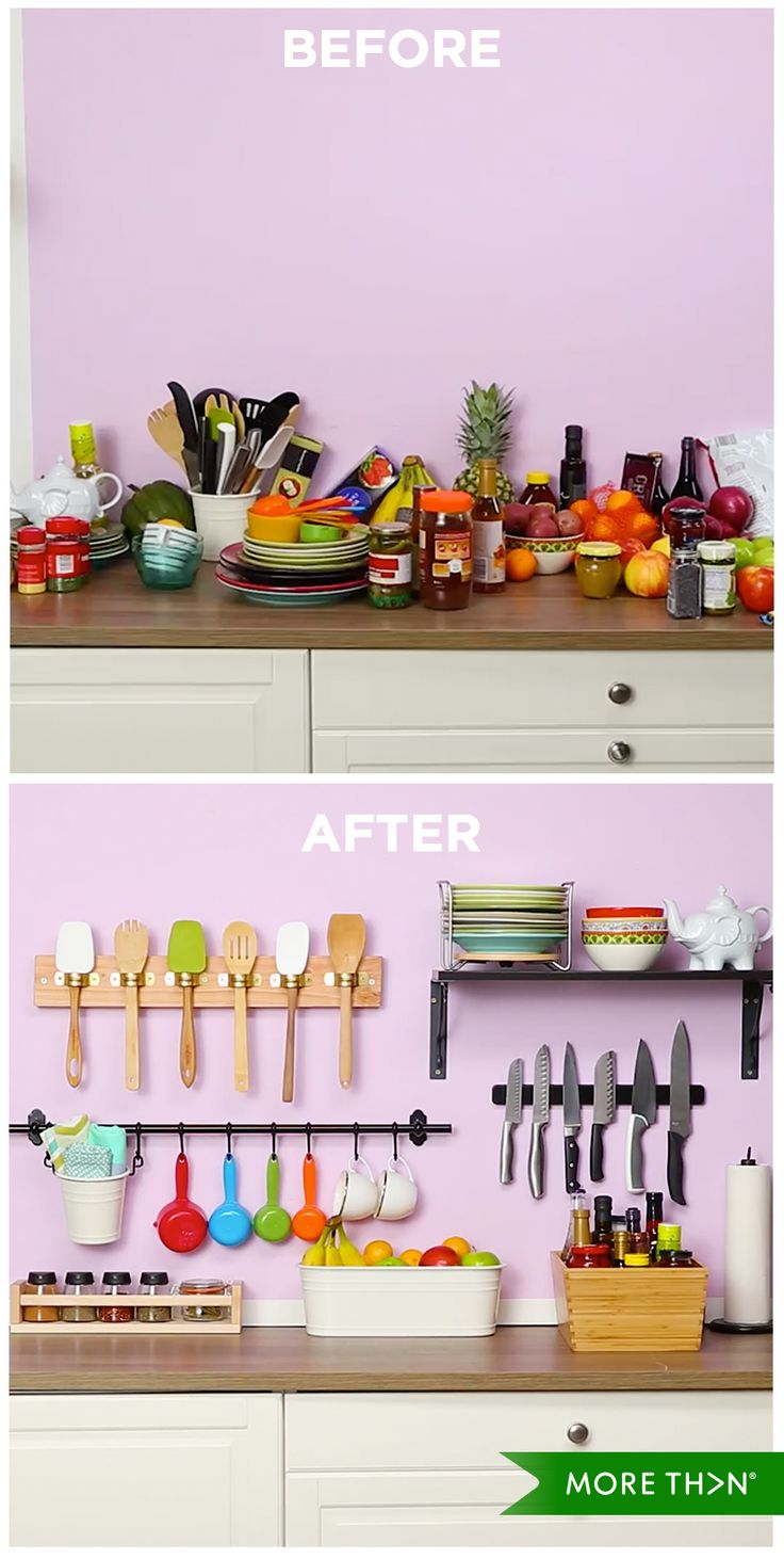 Check our organisation hacks for a tidy and stylish kitchen! Watch the full video by clicking on the image.