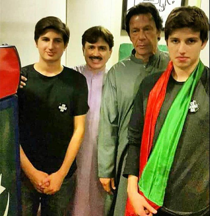 (3) imra khan sons - Twitter Search | PTI- IMRAN KHAN ...
