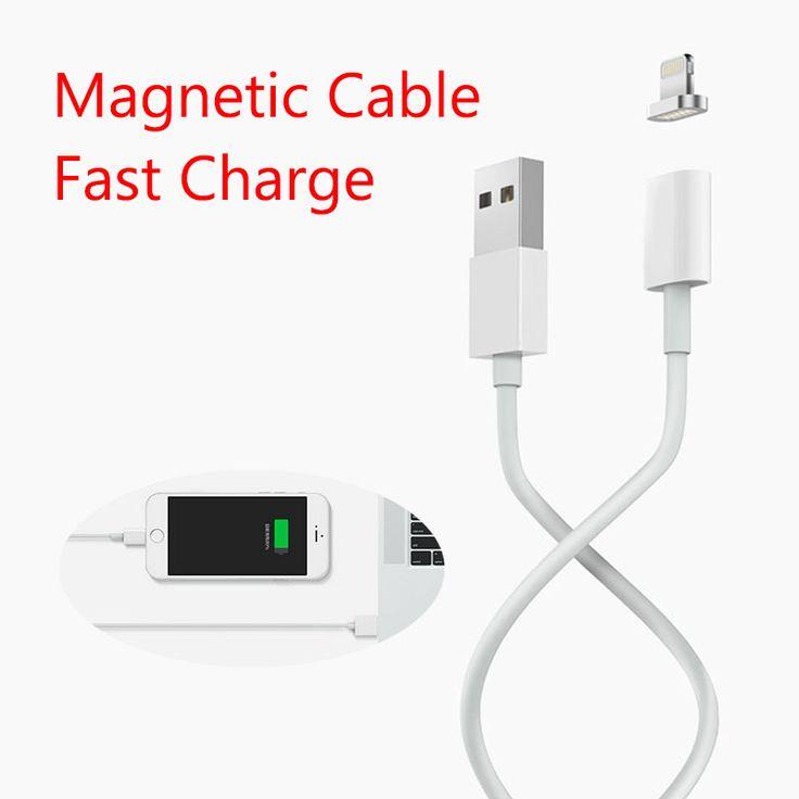 Maxium 2.4A Зарядки Магнитный Кабель Для iPhone 5 5s 5c SE 6 6 s 7 Плюс iPad mini Мобильный Телефон Магнит Зарядное Данные Micro Usb кабель