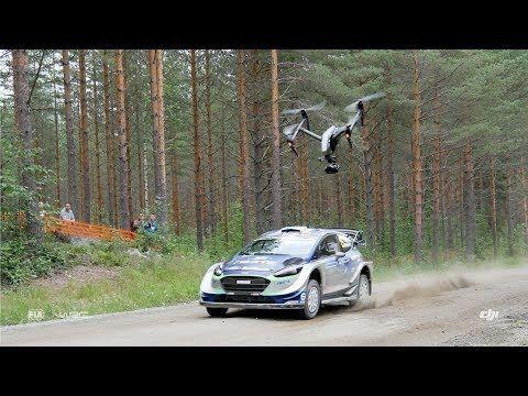 DJI - WRC - Finland 2017 https://www.youtube.com/watch?v=BDcf6FJXtM8