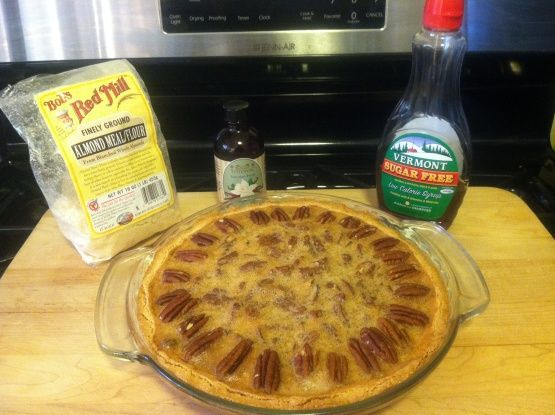 Make and share this Low Carb Pecan Pie recipe from Food.com.