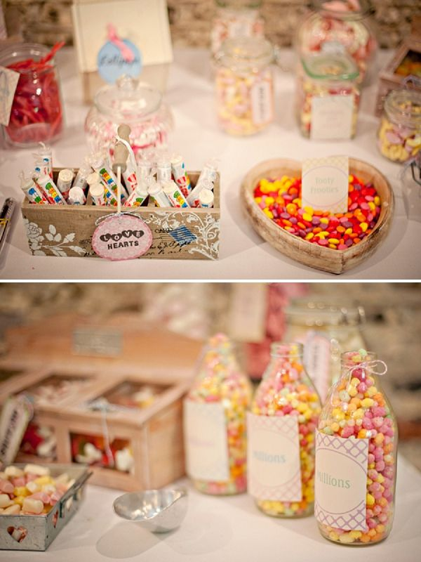 I like the idea of a dessert table at the reception