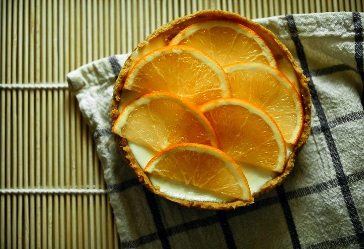 mini cheesecake-13cm  orange+coconut milk
