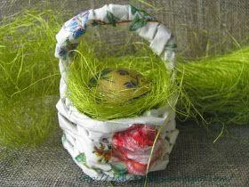 Шьем, плетем и декорируем вместе: Пасхальная корзинка. Мастер-класс