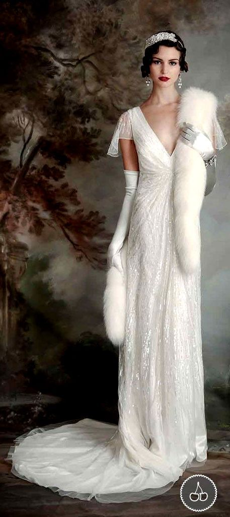 Eliza Jane Howell - Elegant Art Deco Inspired Wedding Dresses