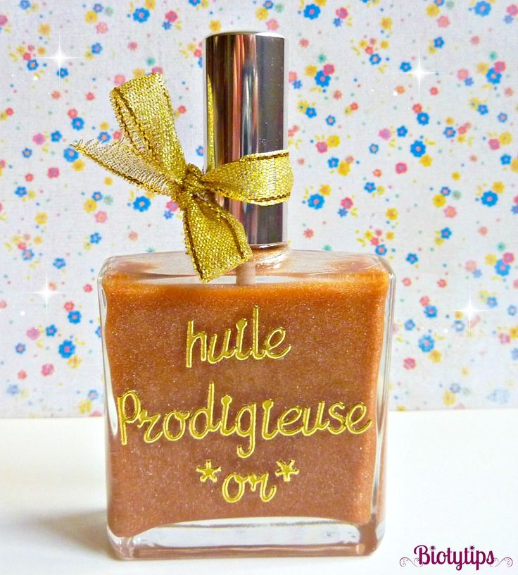 DIY beauté : huile prodigieuse
