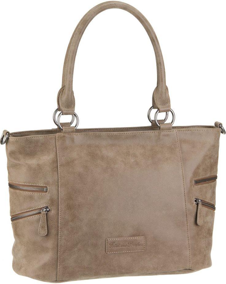 Taschenkaufhaus Fritzi aus Preußen Carlota Vintage Wood - Handtasche: Category: Taschen & Koffer > Handtaschen > Fritzi aus…%#Taschen%