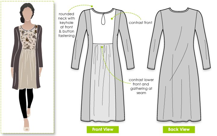 Libby Dress sewing pattern