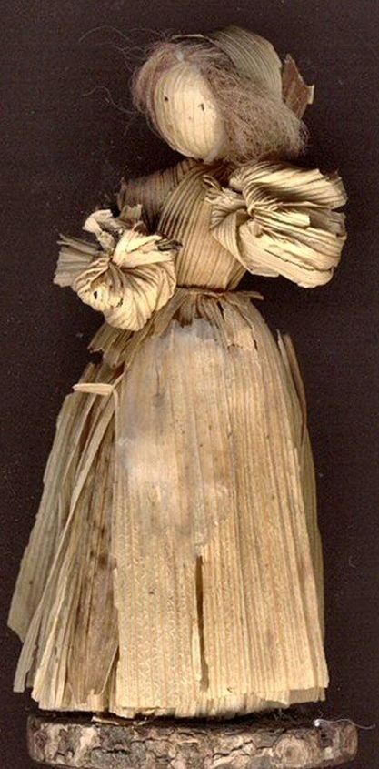 Make a Corn Husk Doll | Crafts For Kidlets
