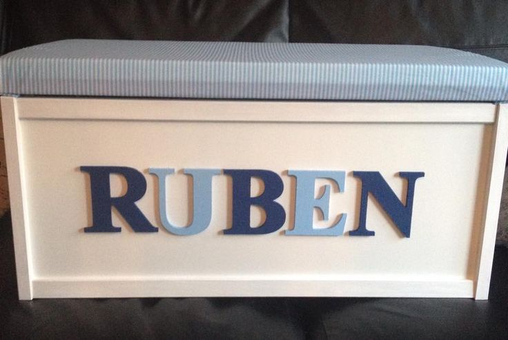 Personalised Toy Box, £65.00