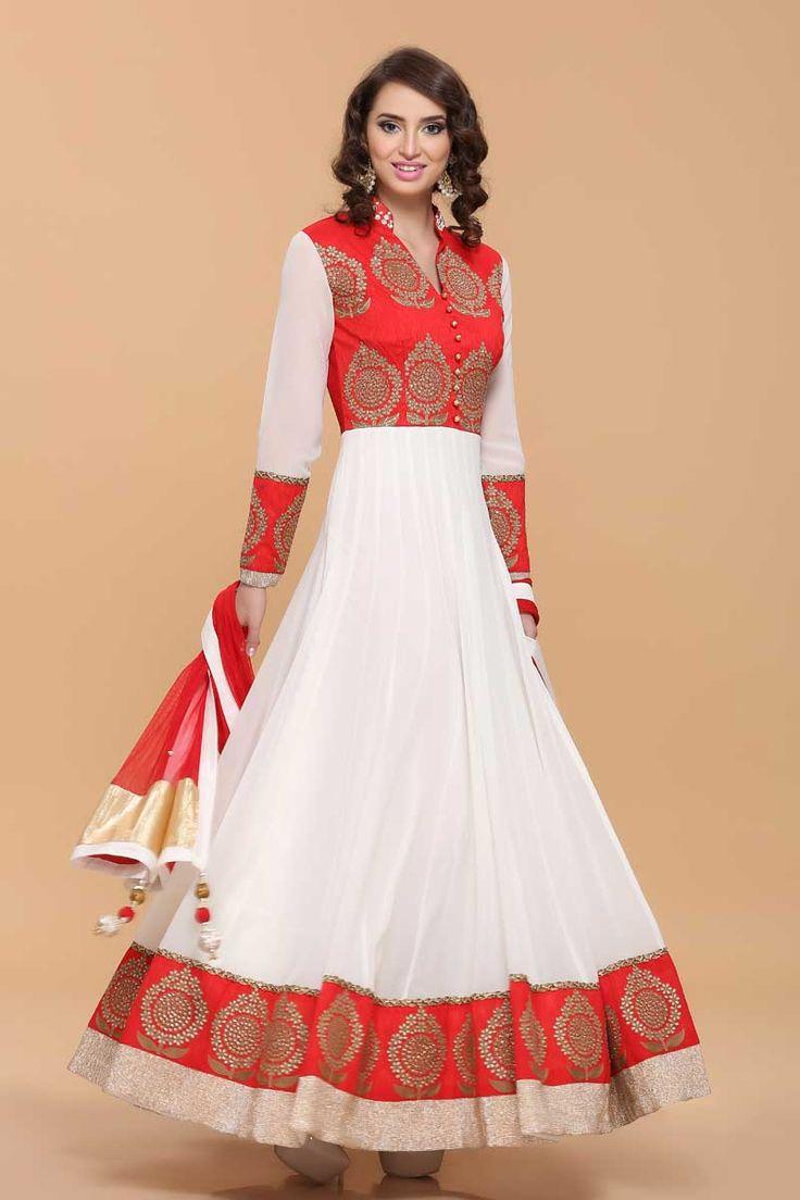 Red heavy bridal anarkali frock 7 suitanarkali in - 25 Best Anarkali Dress With Price Ideas On Pinterest Anarkali Suits With Price Indian Fashion And Pakistani Wedding Dresses
