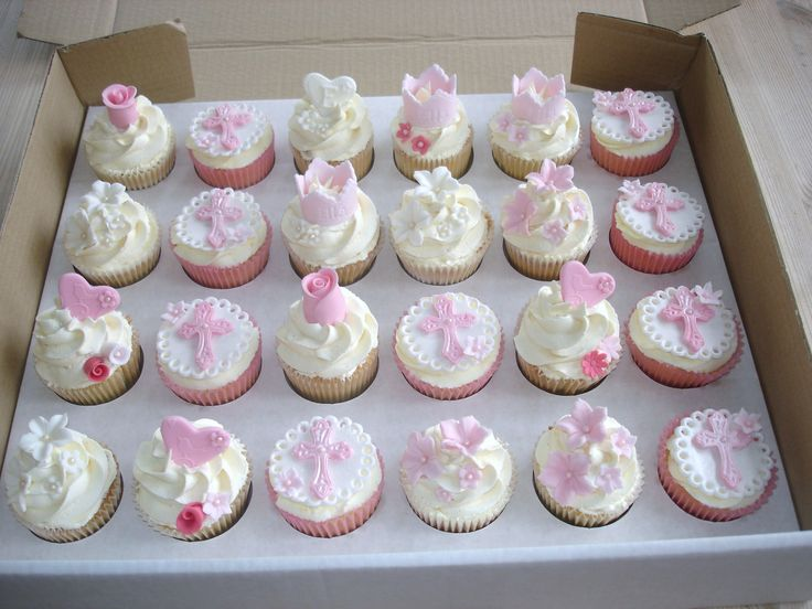 First holy communion cupcake tower recipes cupcakes