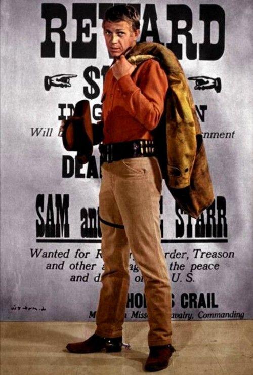 WANTED - DEAD OR ALIVE (CBS-TV) - Steve McQueen as bounty hunter Josh Randall - TV series.