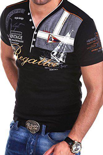 MT Styles 2in1 T-Shirt RESAIL Polo R-2729 [Schwarz, 3XL]